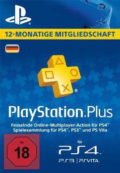 Sony PlayStation Plus Sony PlayStation Plus 365 Tage Abo für 39,99€ (statt 44€)