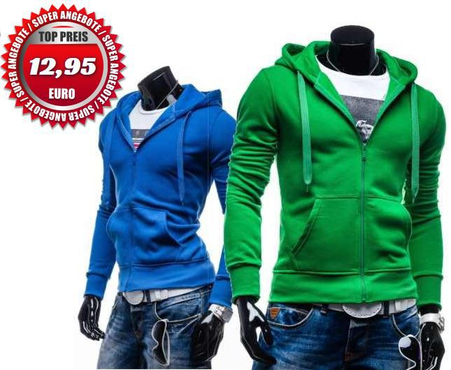STEGOL   Herren Herren Sweat Jacken mit Zipper für je 12,95€   Update!