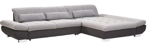 XXXL Wohnlandschaft xora Wohnlandschaft in Grau und aus Textil für 599€