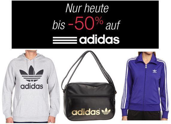 Adidas mit 50% Rabat auf ausgewählte Artikel @ Amazon