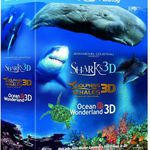 3D Blu-ray, Jean Michel Cousteau's Film Trilogy Oceans Wonderland für ~9€
