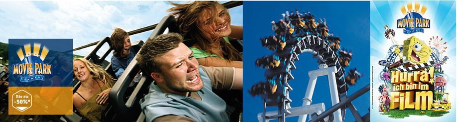 Movie Park (Bottrop)   Eintritt + Parkticket ab 9,99€ dank Neukundengutschein   Update!
