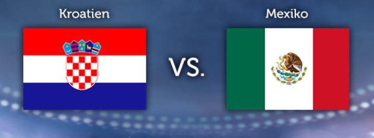 WM Tipp WM Tippgewinnspiel   12.Tag: Kroatien – Mexiko