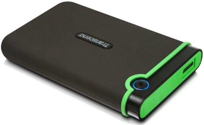 Transcend StoreJet M3   2TB externe Festplatte mit Anti Schock für 74,90€ (statt 85€)
