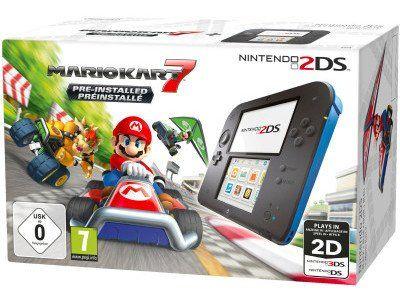 Nintendo 2DS + Mario Kart 7 für 69,99€ (statt 83€)