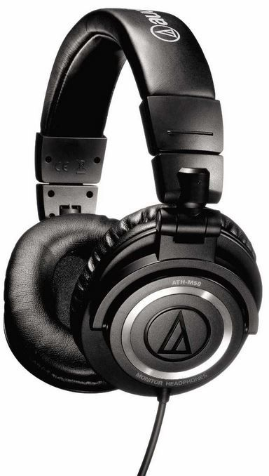 Audio technica Audio Technica ATH M50   Studiokopfhörer für 99,99€   Update!