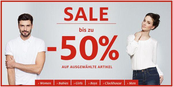C und A Sale C&A Sale mit bis zu 50% Rabatt auf ausgewählte Artikel + 10% Gutschein   Update!