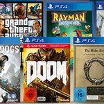 3 Games für 55€   z.B. (alle PS4) Watch Dogs + Fallout 4 + Doom (statt 68€)