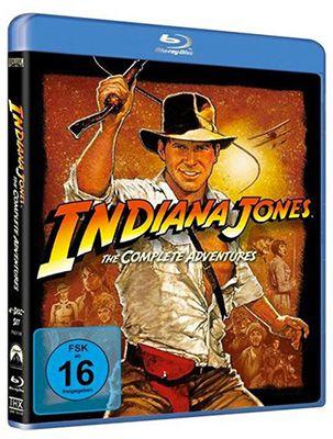 Indiana Jones   The Complete Adventures (Blu ray) für 12,04€ (statt 15€)