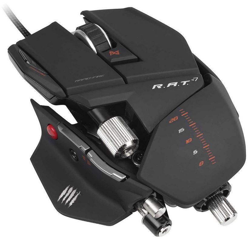 Mad Catz R.A.T. 7    Gaming Maus für PC und Mac für 59,99€   Update