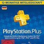 Sony PlayStation Plus 365 Tage Abo für 44,30€ (statt 50€)