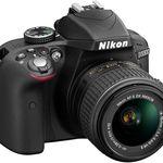 Nikon D3300 – 24MP SLR mit AF-S DX 18-55 VR II Objektiv für 349,99€