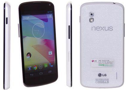 Google Nexus 4 Android 4.2 Smartphone 16GB für 174,99€
