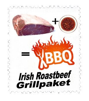 18kg Irish Black Angus Roastbeef 1,8kg Irish Black Angus Roastbeef für 44,44€   inkl. Marinade