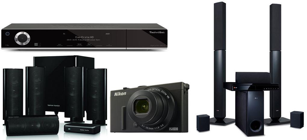 Harman Kardon HKTS 35 5.1 Heimkino Lautsprechersystem für 458,45€ bei den Amazon täglichen weltMAIsterlichen Elektronik Deals