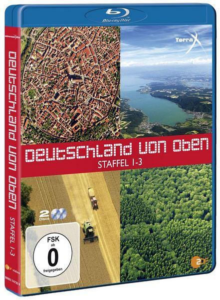 Amazon22 Deutschland von oben Teil 1   3 [Blu ray] ab 12,97€