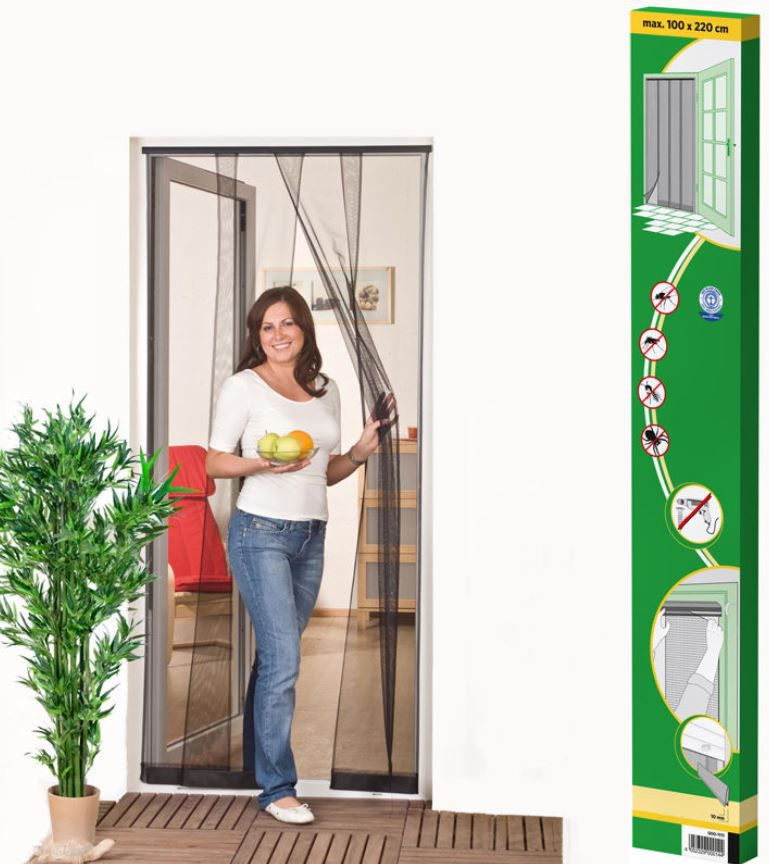 Amazon4 Insektenschutz Tür Vorhang 100x220cm für nur 9,99€