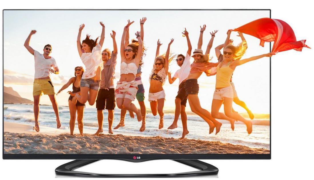 LG 55LA6608, 55Zoll 3D Smart TV mit vier 3D Brillen für 749,99€   schnell sein!