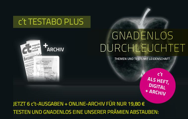 Mini Abo Tipp! 6 Ausgaben der c't + 15€ Amazon Gutschein nur 4,80€ effektiv