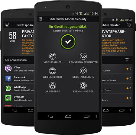 Bitdefender Mobile Security 6 Monate gratis für Android Geräte   Update!