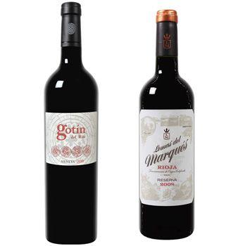 Der Weinversand1 25€ Rabatt bei der Weinversand   z. B. 6 Flaschen Lomas del Marques Rotwein für 31,89€