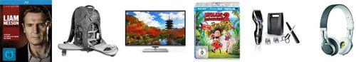 Toshiba 50 LED TV, Liam Neeson Collection [Blu ray] uvm. in den Blitzangeboten ab 18 Uhr