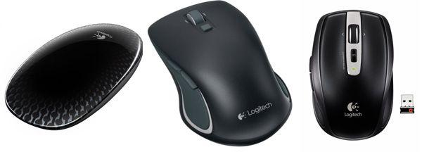 Logitech Maus Update! Logitech Touch Mouse M560 für 16,40€   und weitere günstige Logitech Mäuse