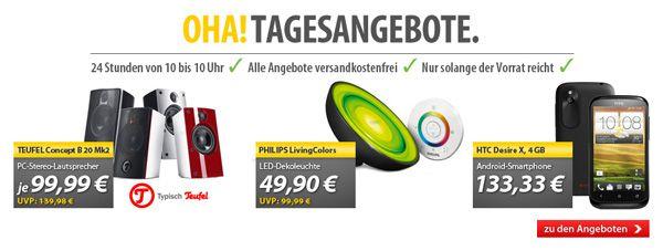 Philips LivingColors Bloom für 49,90€   und mehr in den OHA! Tagesangeboten von MeinPaket