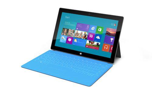 Microsoft Surface mit Touch Cover für 249€   10 Tablet mit 64GB, Wi Fi und Windows 8.1 RT
