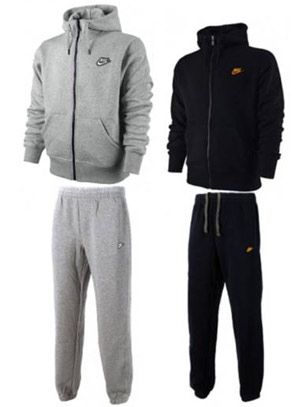 Nike Trainingsanzug in grau oder schwarz für 54,99€