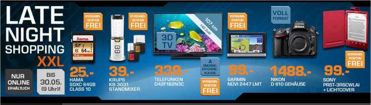 KRUPS Mini Standmixer für 39€ und mehr Saturn Late Night Sale Angebote   Update