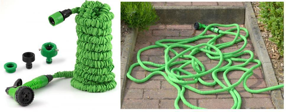Flexi Gartenschlauch inkl. Spritzdüse 30m für 14,99€