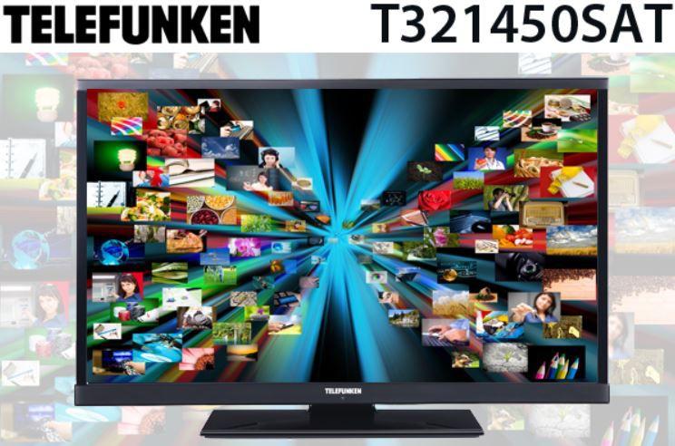 Telefunken T321450SAT   32 HD Ready Smart TV mit DVB C/T/S für 199,90€