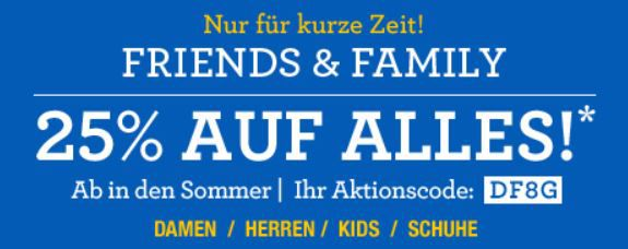 Lands´End mit 25% Rabatt auf alles   Update