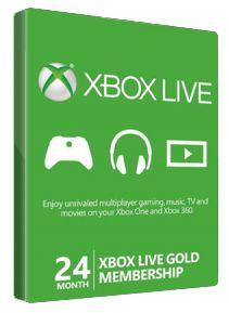 Xbox Live Gold 24 Monate 24 Monate Xbox Live Gold für 49,99€