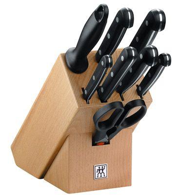 Zwilling 31665 000 Messerblock Twin Gourmet 9 teilig für 89,99€ (statt 112€)