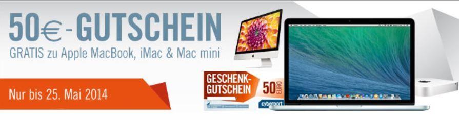 cyber1 Apple Mac mini 2,5Ghz für effektiv 499€ dank 50€ Gutschein auf viele Apple iMac   Knaller!