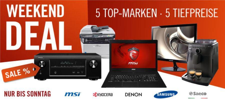 MSI GS70 2ODi581FD Gaming Notebook für 799€ und mehr gute Cyberport Weekend Deals