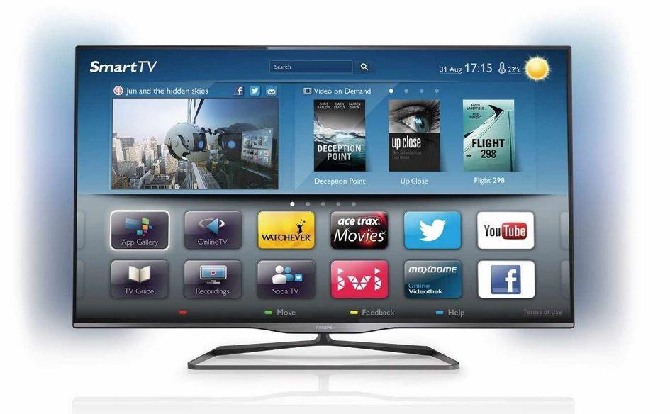 Philips 42PFL5008K/12    Ambilight 3D WLAN Smart TV mit triple Tuner für nur 467,95