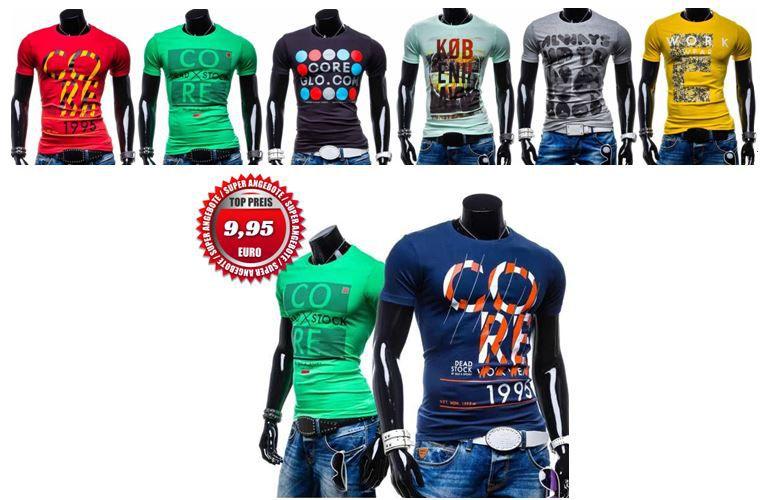 Bolf GLO STORY   Herren T Shirts 12 Modelle für je 9,95€ inkl. Versand   Update!