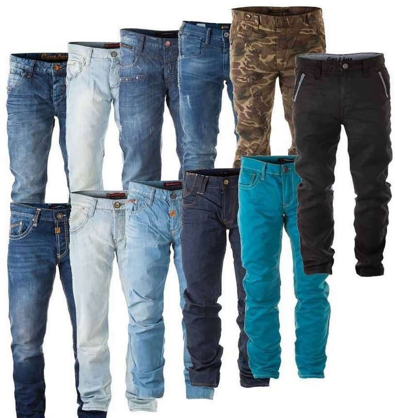 CIPO & BAXX   Herren Jeans im used und Sommer Look für je 36,99€