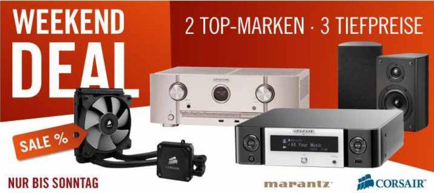 Marantz SR5008 7.2 AV Receiver mit AirPlay  für 444€ und mehr gute Cyberport Weekend Deals