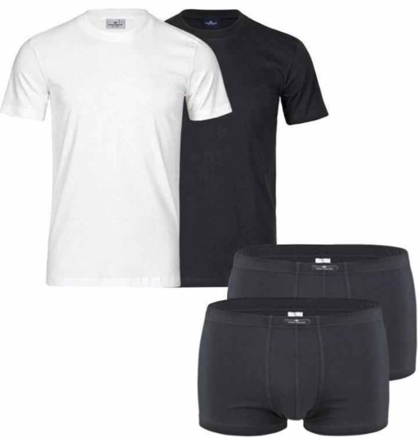 ebay9 Tom Tailor 2er Pack T Shirts oder Boxershorts für je Set 14,99€