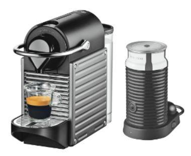 handy2 KRUPS Nespresso Pixie XN301T Edelstahl + Aeroccino3 Milchschäumer dank 70€ Cashback für effektiv 59€ Update!