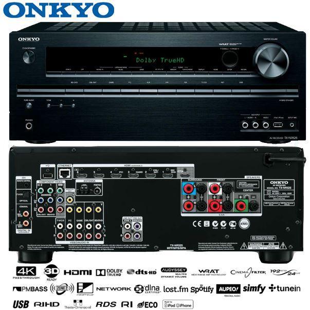 Onkyo TX NR525   5.2 Kanal AV Netzwerk Receiver für 188,90€   Update