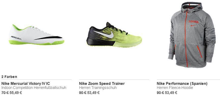 Nike Sale mit bis zu 20% Extrarabatt auf Sale Ware