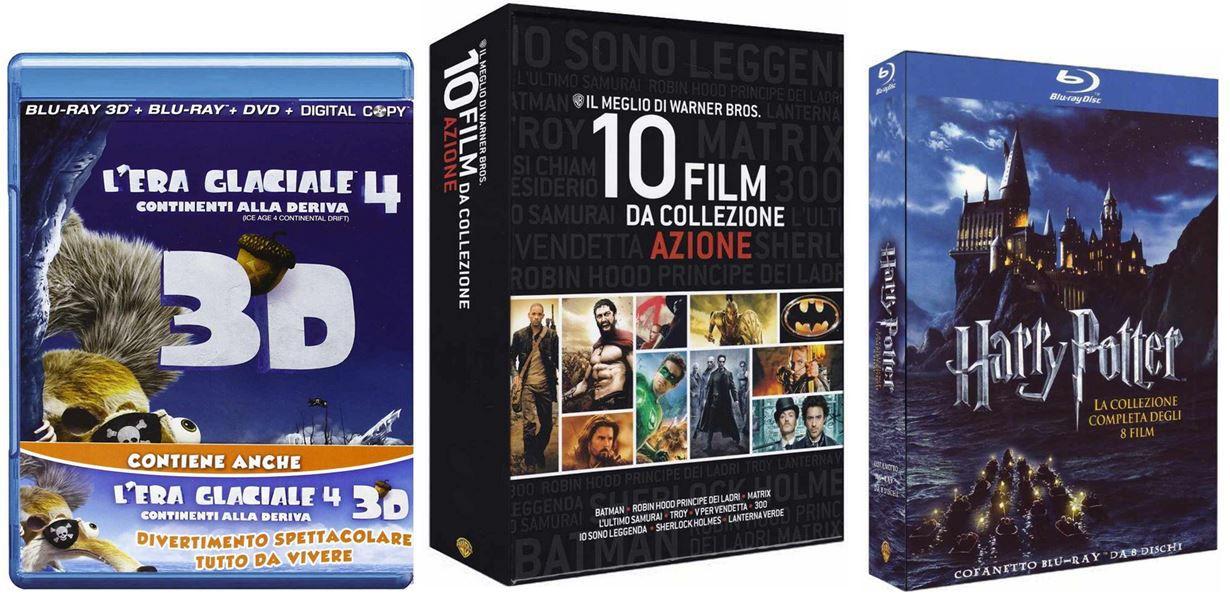 mein deal183 20 Blu rays dank Gutscheincode für 58,57€ inkl. Versand @Amazon.it