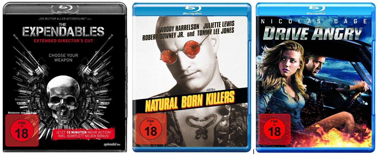 3 FSK 18 Blu rays für 20€ und mehr Amazon DVD und Blu ray Angebote
