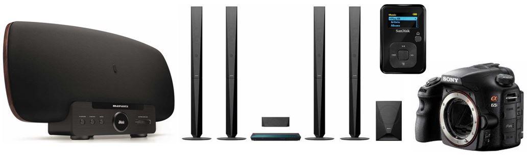 Marantz MS7000/N1B Consolette Wireless Soundsystem bei den Amazon täglichen weltMAIsterlichen Elektronik Deals