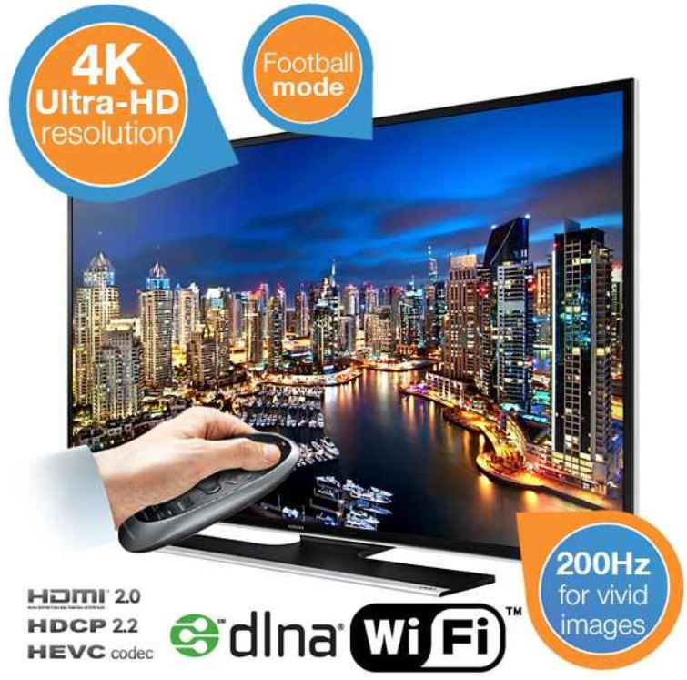 Samsung UE55HU6900   Ultra HD 55 Zoll TV für 1.208,90€ inkl. Versand